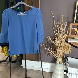 Tops - 🎉😃☀️🛍NWT Blue Bell sleeve Top Sz M